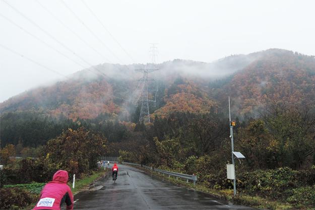 雨でも山々って綺麗なんだなーと改めて感じました。